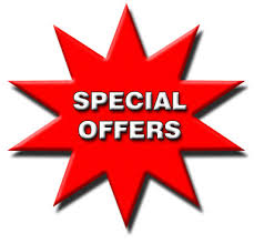 Special Offer Freeze dried meals