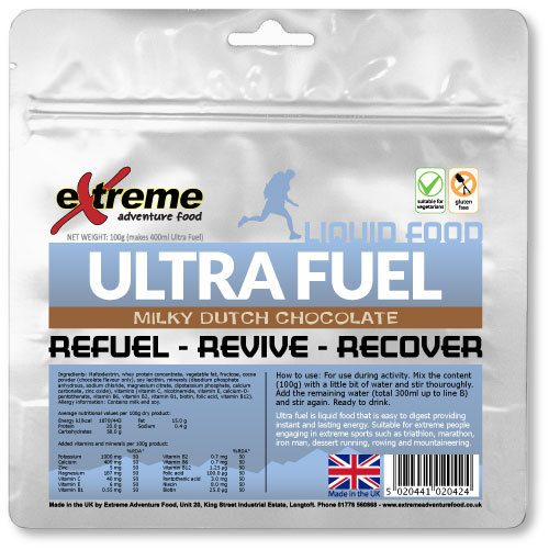 Ultra fuel Liquid food 450Kcal in just 100g