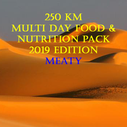 Multi Stage 250km Desert Meaty Pack 2019