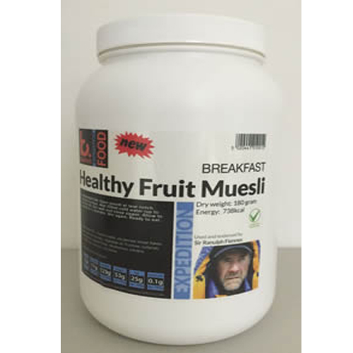 2 kg Healthy Fruit Muesli Expedition Food