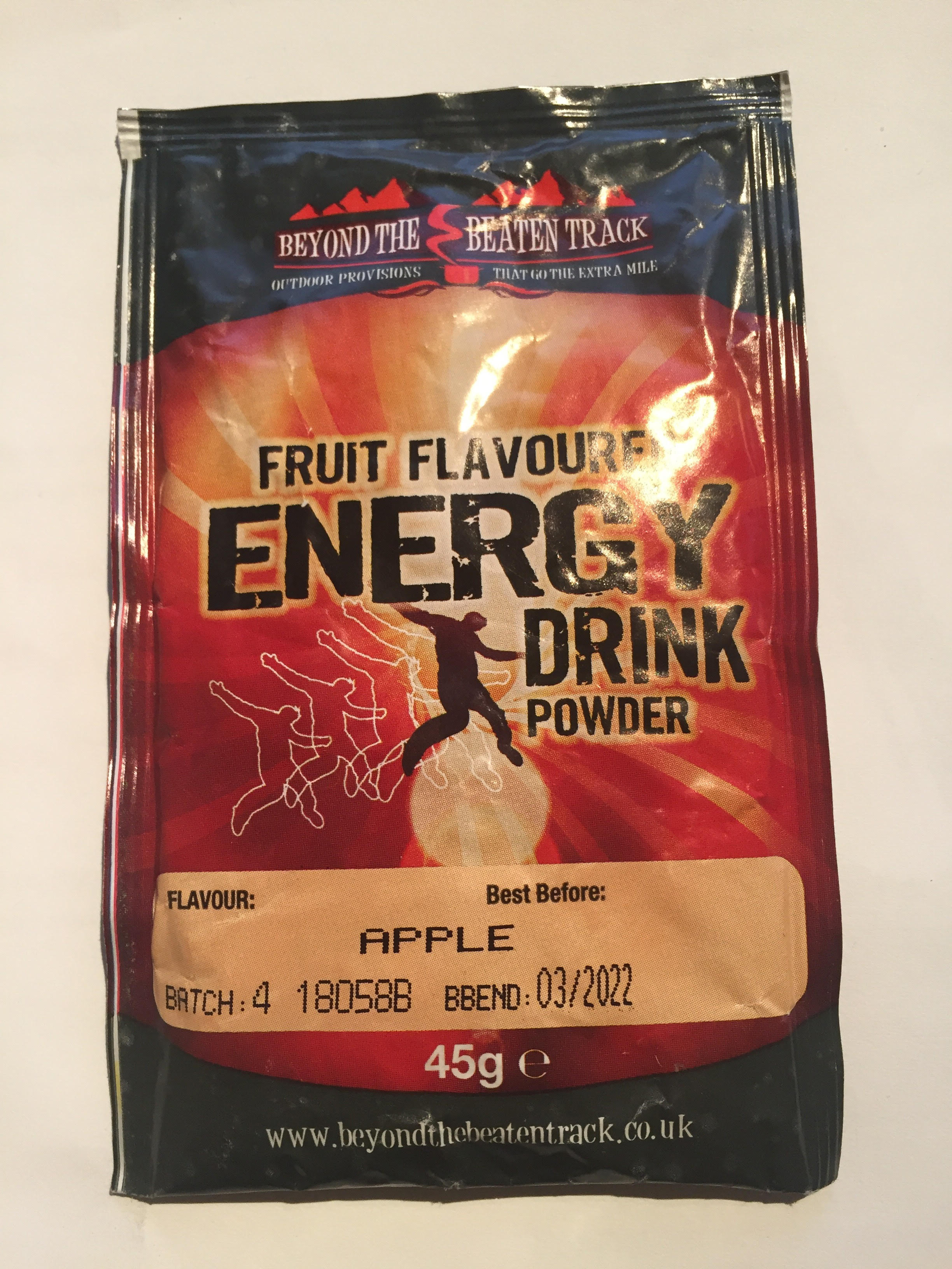 Fruit Flavoured Energy Drink APPLE