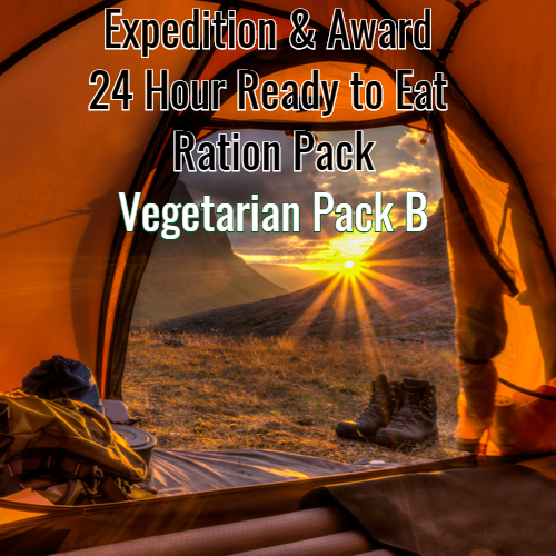 Award & Expedition 24 Hour Ready to Eat pack 2020  PACK B VEGETARIAN