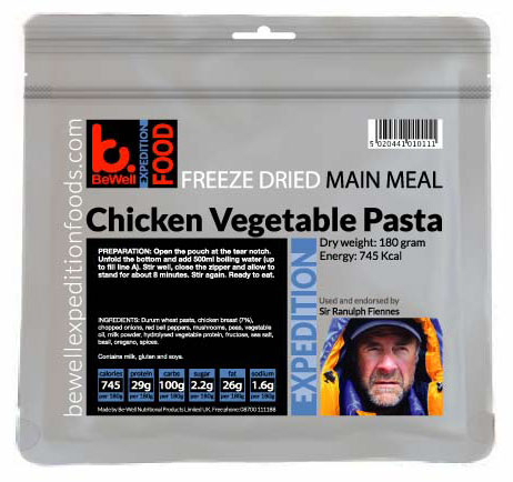 180g Chicken Vegetable Pasta