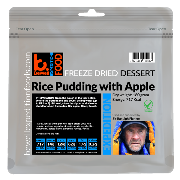180g Rice Pudding & Apple Pieces
