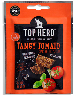 High Protein Jerky Tangy Tomato Beef 35g