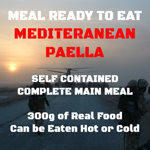 300g Paella MRE wet Meal 300g