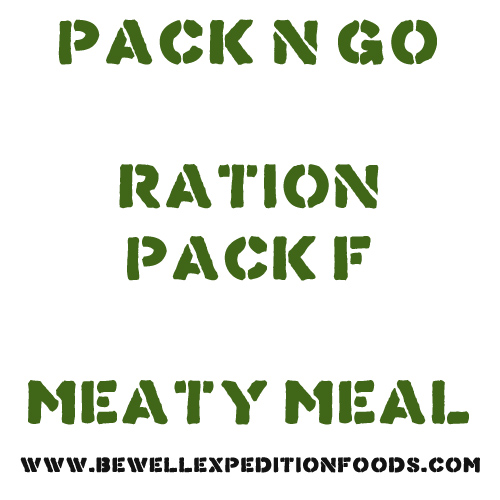 Pack N Go Ration Pack F - Meaty