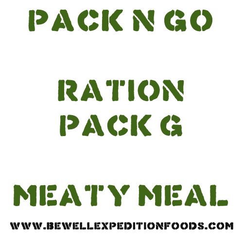 Pack N Go Ration Pack G - Meaty