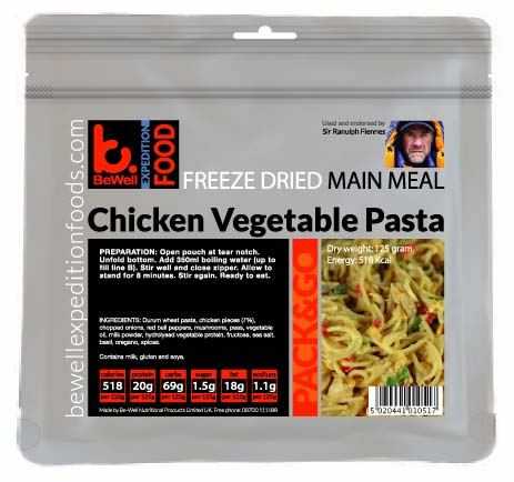 125g Chicken Vegetable Pasta