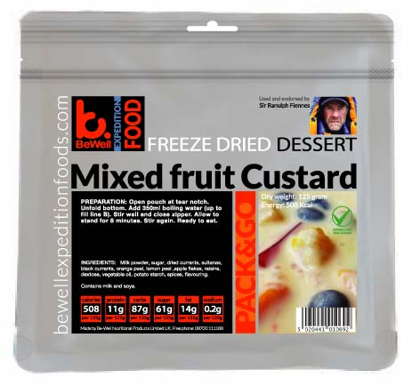 CLEARANCE 125g Custard with Mixed Fruit