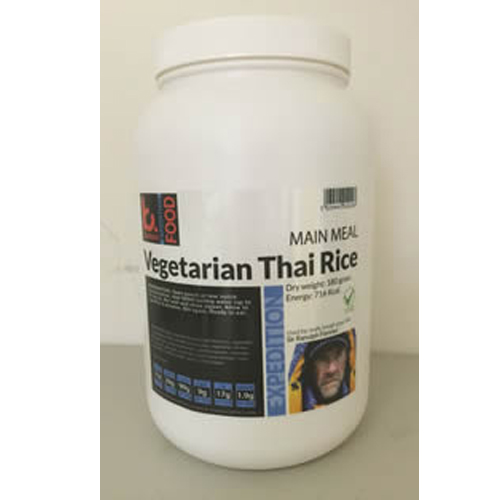 2 kg Vegetarian Thai Rice Expedition Food