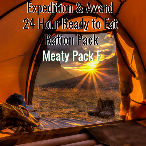 Award & Expedition 24 Hour Ready to Eat pack 2020  Meaty PACK F