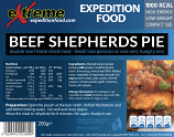 Extreme expedition Food 1000 Kcal Beef Shepherds pie  (CLONE)