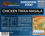 Extreme Expedition Food 1000 Kcal Chicken tikka masala