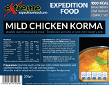Extreme Expedition Food 1000 Kcal Mild chicken korma (CLONE)