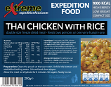 Extreme Expedition Food 1000 Kcal Thai Chicken with Rice