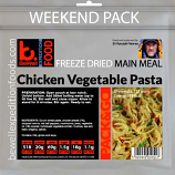 BeWell Pack N Go Expedition Food Weekend Pack Meaty