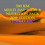 Multi Stage 250km Desert Vegetarian Pack 2019