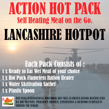 ACTION HOT PACK SELF HEATING Meal Hot Pack Lancashire Hotpot