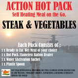 ACTION HOT PACK Steak and Vegetables