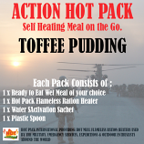 ACTION HOT PACK SELF HEATING Toffee Pudding