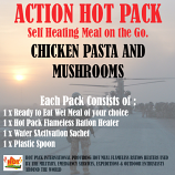 ACTION HOT PACK MEAL Chicken & Mushrooms Pasta