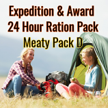 Lightweight Expedition Award 24 Hour  Meaty Pack D