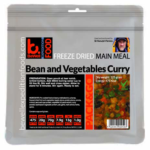 125g Bean & Vegetable Curry