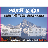 Pack & Go 600 Kcal Bean and Vegetable Curry