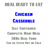 300g Chicken Casserole MRE Wet Meal