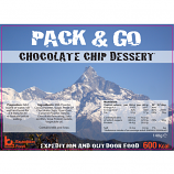 Pack & Go 600 Kcal Chocolate Chip  Dessert High