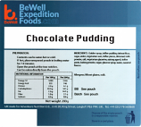 200g Chocolate Pudding MRE Wet Meal