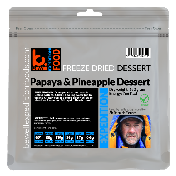 CLEARANCE 180g Papaya & Pineapple Dessert