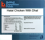 300g Chicken With Dhal MRE Wet Meal