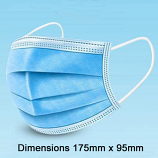 3 Layer Disposable Mask Box of 50
