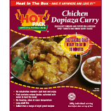 Hot Pack SELF HEATING Meal in a box Chicken Dopiaza Qty 1