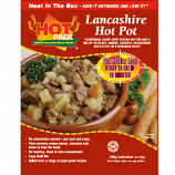 Hot Pack SELF HEATING  Meal in a box Lancashire Hotpot Qty 1