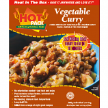 Hot Pack  Self Heating Meal in Box Vegetable Curry (v) qty 1