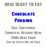 200g Chocolate Pudding MRE Wet Meal  (CLONE)