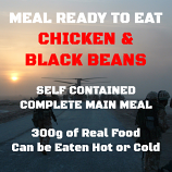300g Chicken in a Black Bean Sauce MOD MRE