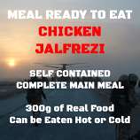 300g Chicken Jalfrezi MRE Wet Meal