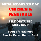 300g Chicken & Vegetable Meal Soup MOD MRE