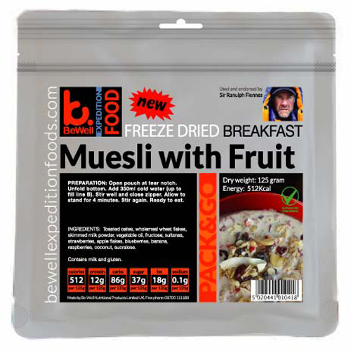 125g Muesli with Fruit