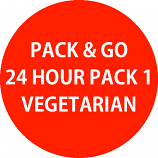 Pack & Go 24 Hour Pack 1 - Vegetarian