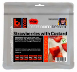 125g Custard with Strawberries
