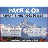 Pack & Go 600 Kcal Papaya & Pineapple Dessert