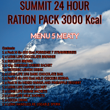 SUMMIT 24 Hour 3000 Kcal Meaty Ration - Pack 5