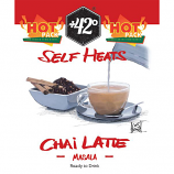 Self Heating Chai Latte  Drink 6 Pack