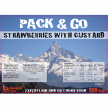 Pack & Go 600 Kcal Strawberries & Custard