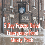 5 Day Freeze Dried Emergency Food Meaty Pack